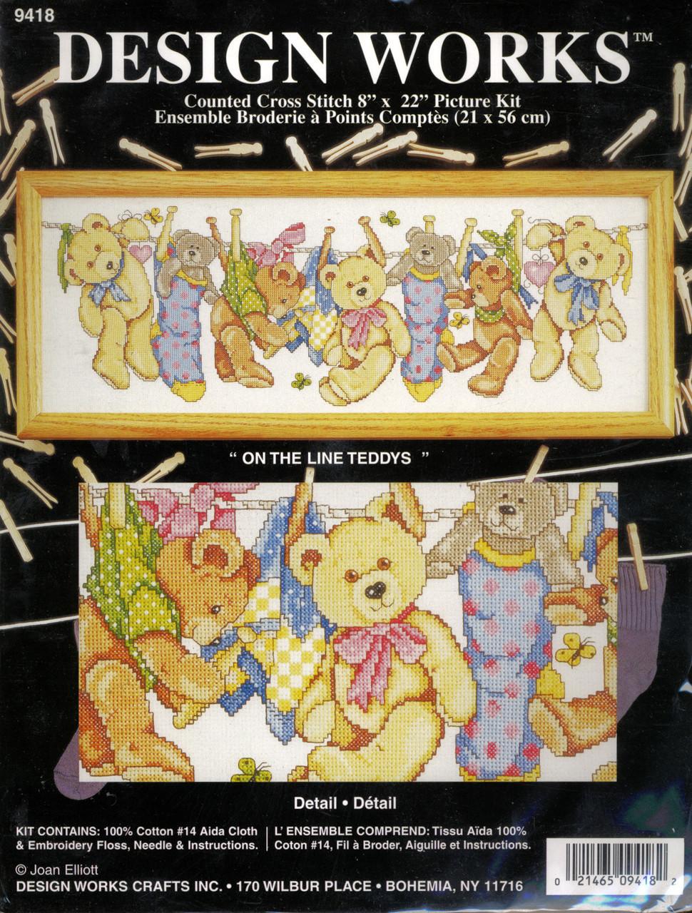 Design Works - On The Line Teddys