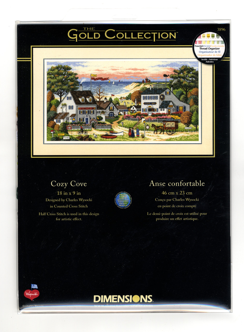 Gold Collection - Charles Wysocki - Cozy Cove