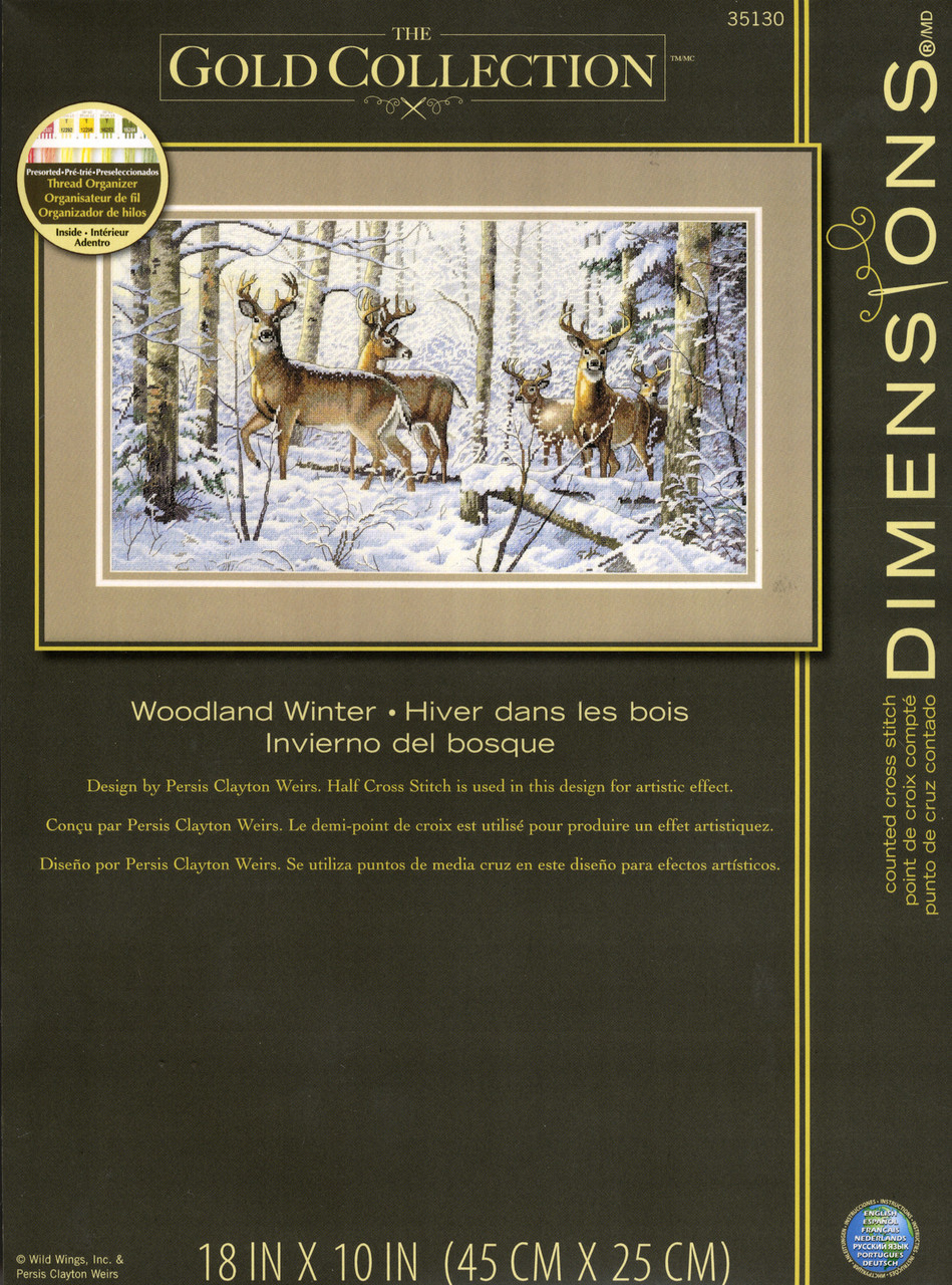 Dimensions Gold Collection - Woodland Winter