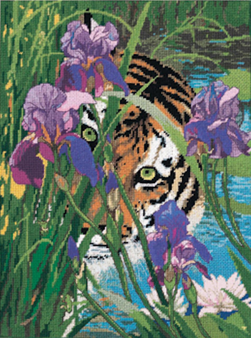 Candamar - Peeking Tiger