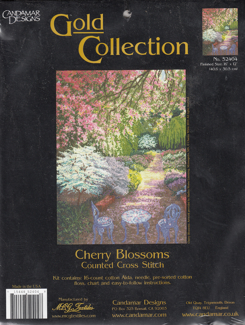 Gold Collection - Cherry Blossoms