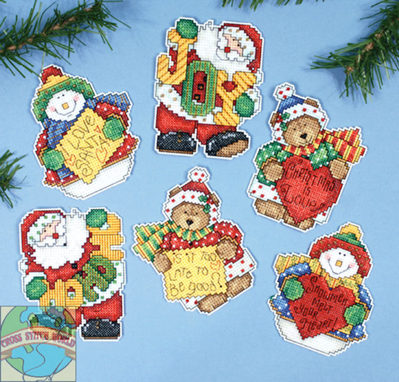 Design Works - Messages of Joy Ornaments (6)