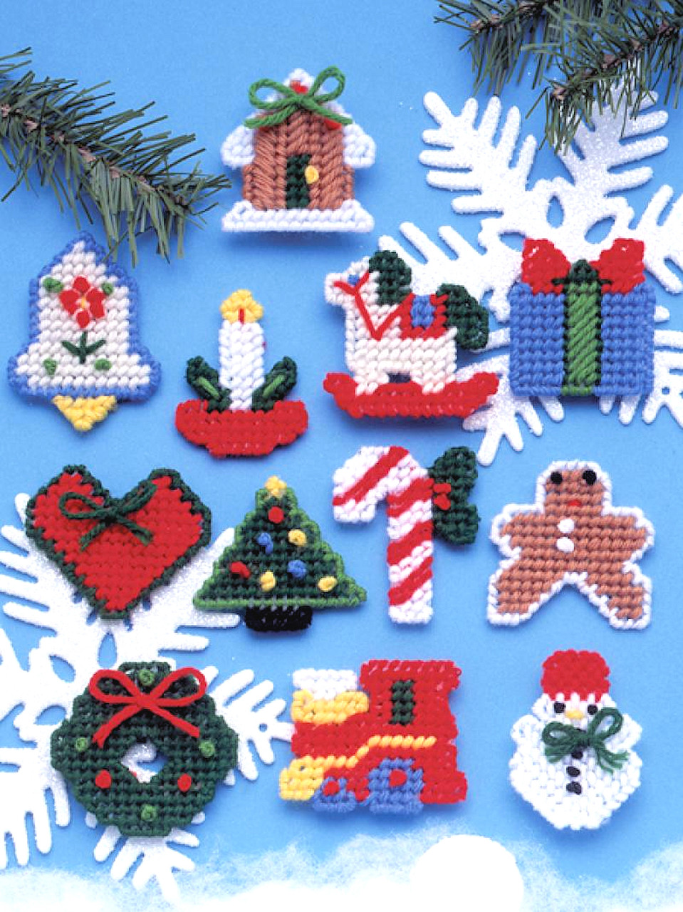 Design Works - Country Christmas Ornaments (PC)