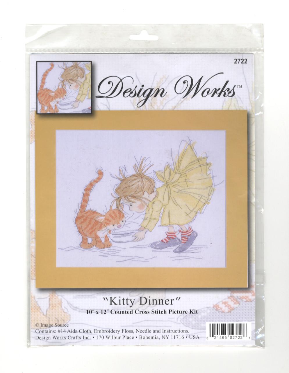 Design Works - Kitty Dinner