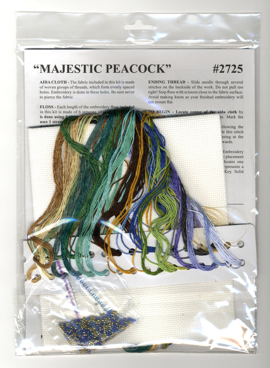 Design Works - Majestic Peacock