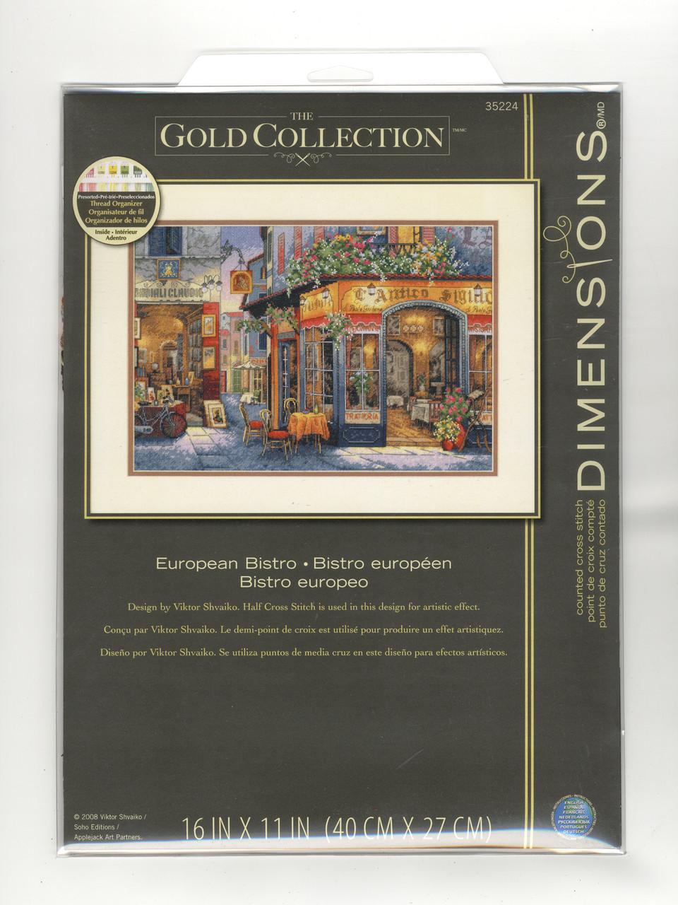 Gold Collection - European Bistro