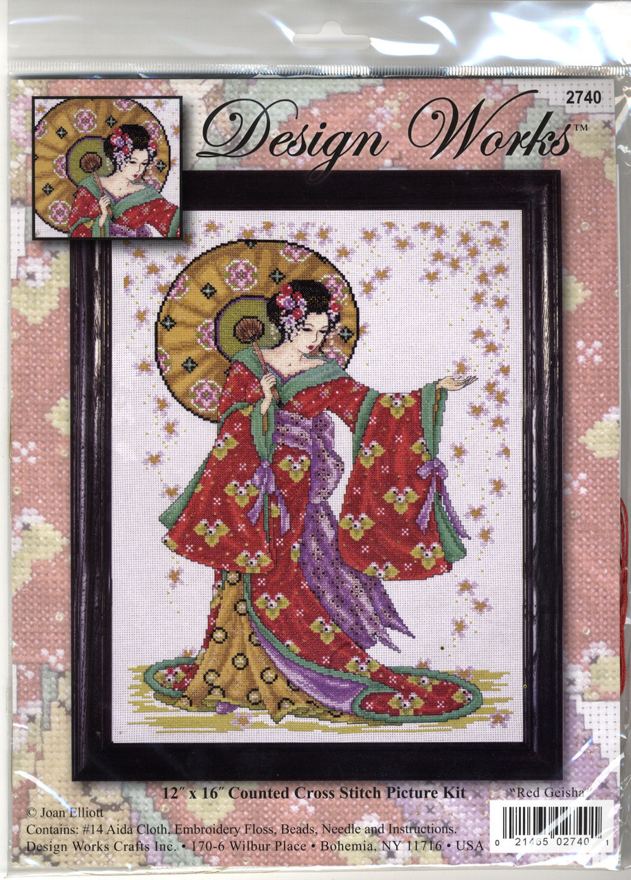 Design Works - Red Geisha