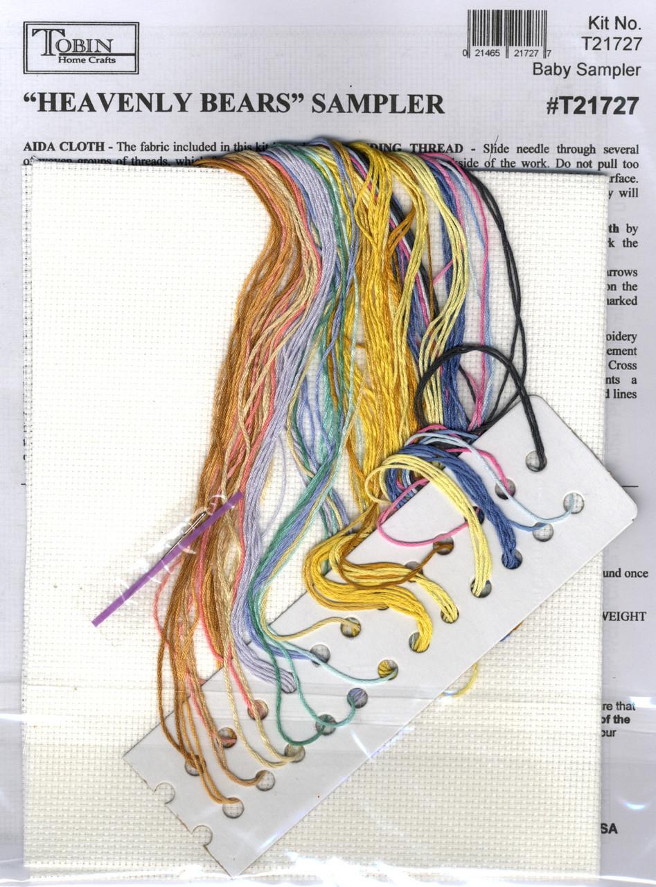 Design Works - Heavenly Bears Birth Record