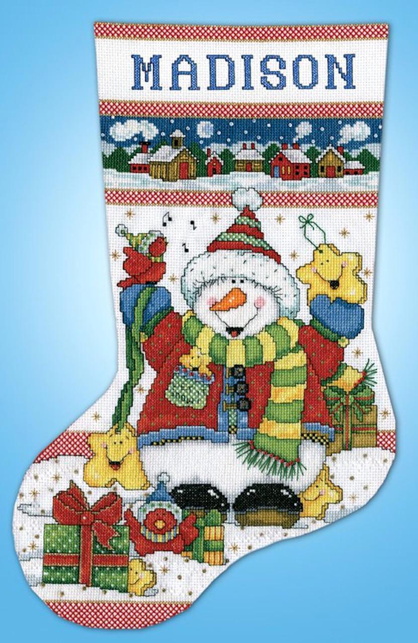 Design Works - Snowman Fun Stocking