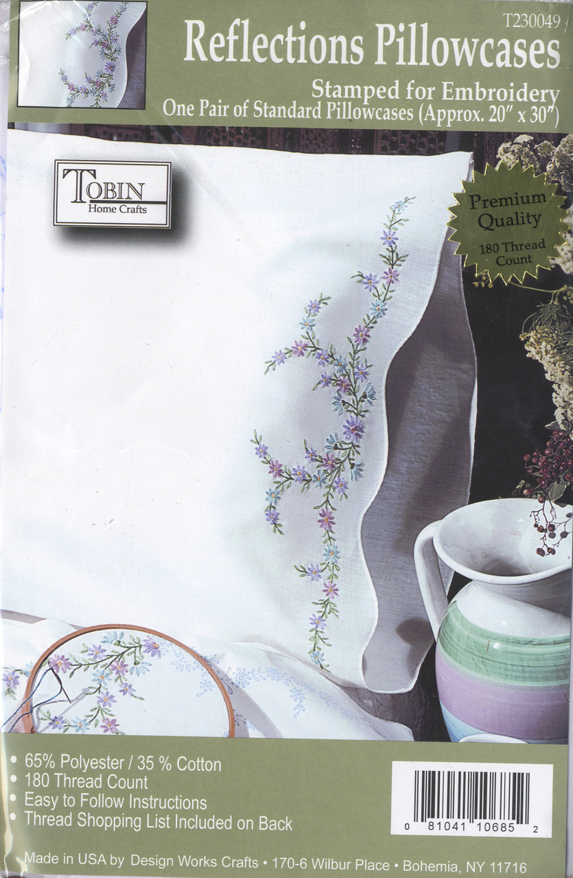 Design Works - Reflections Pillowcases (2)