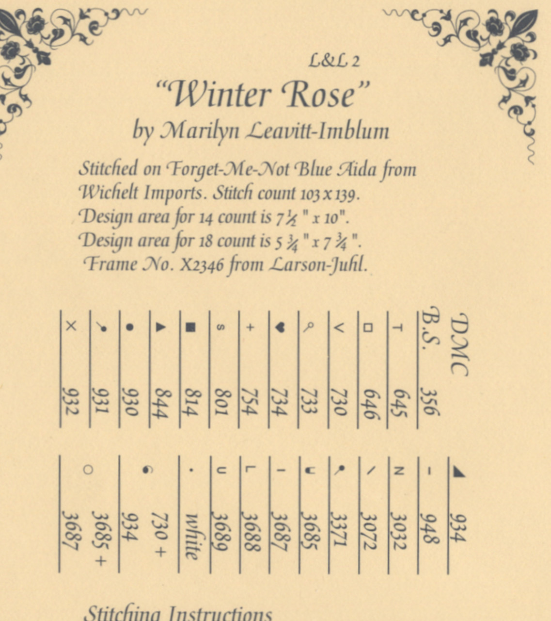 Lavender & Lace -  Winter Rose