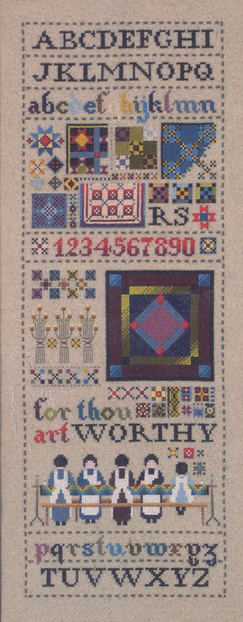 Told In A Garden - Amish Quilt Sampler