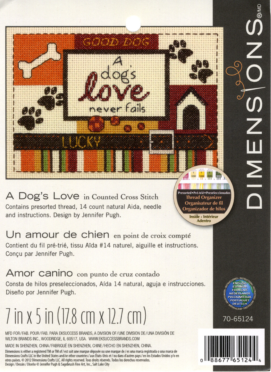 Dimensions Minis - A Dog's Love