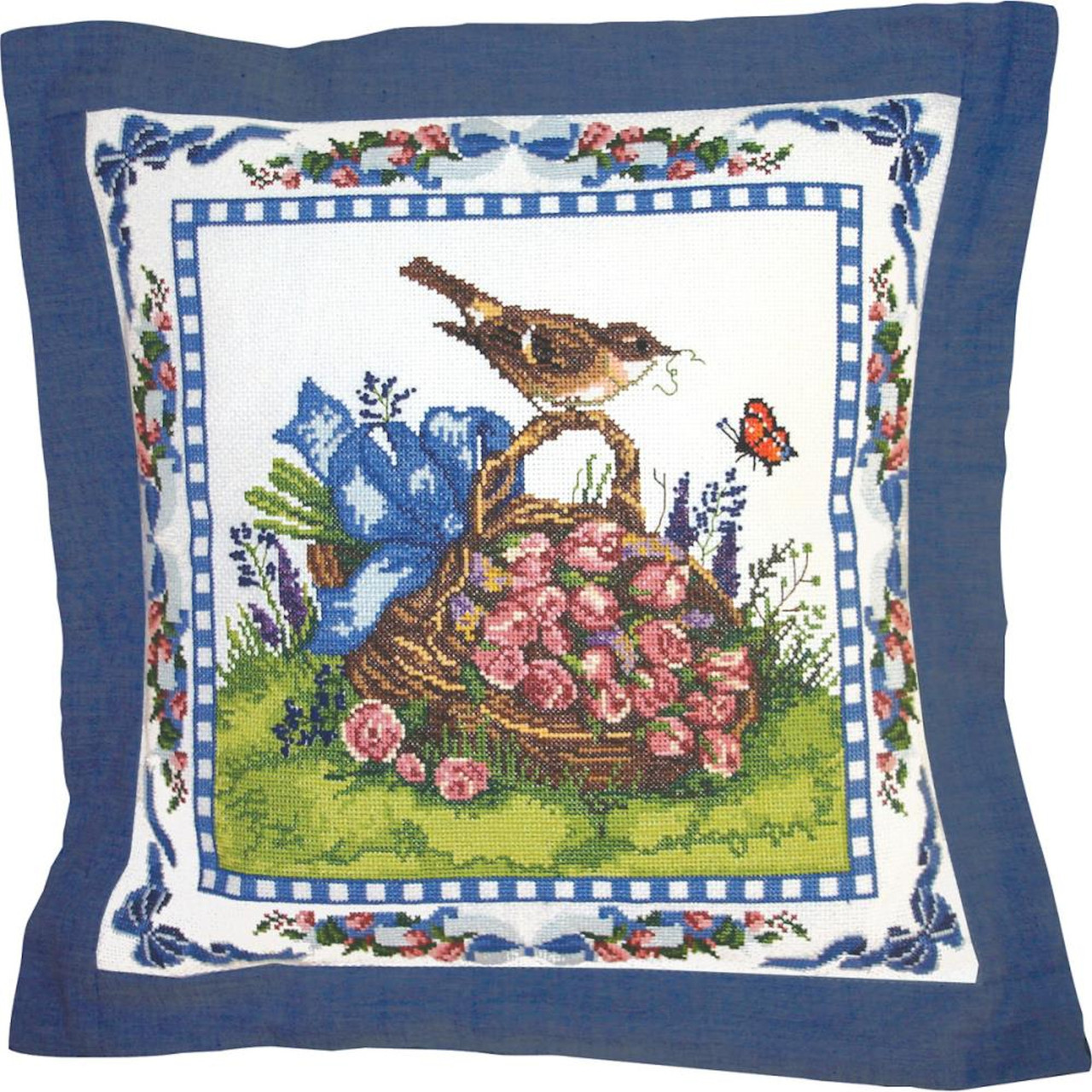 Candamar - Spring Robin Pillow or Picture