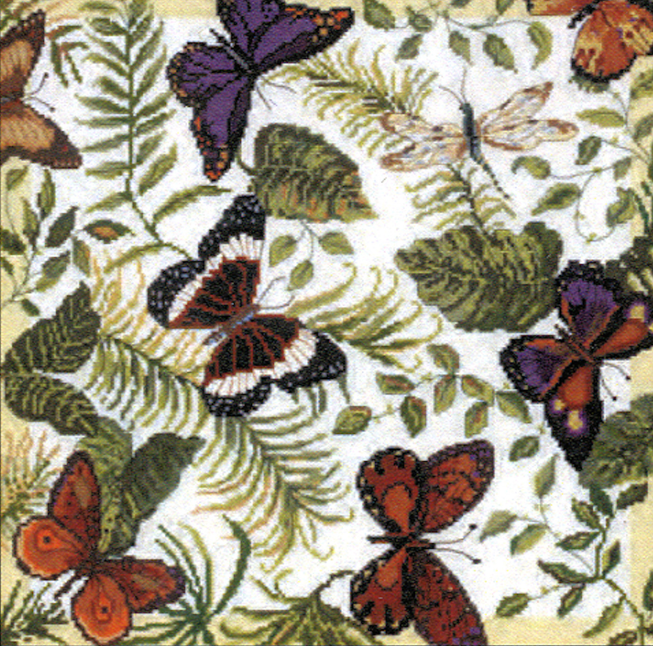 Candamar - Butterflies Galore Pillow or Picture