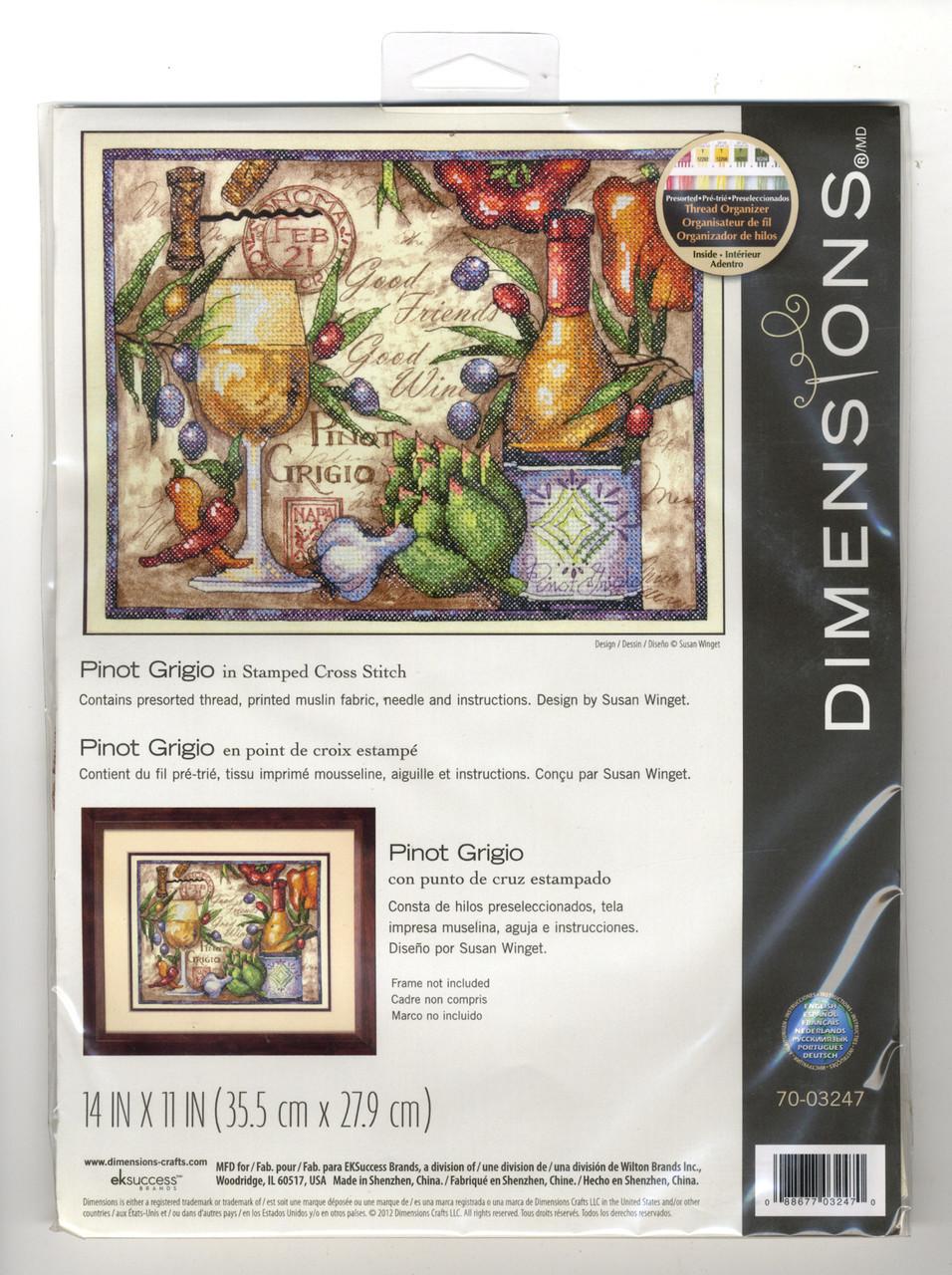 Dimensions - Pinot Grigio
