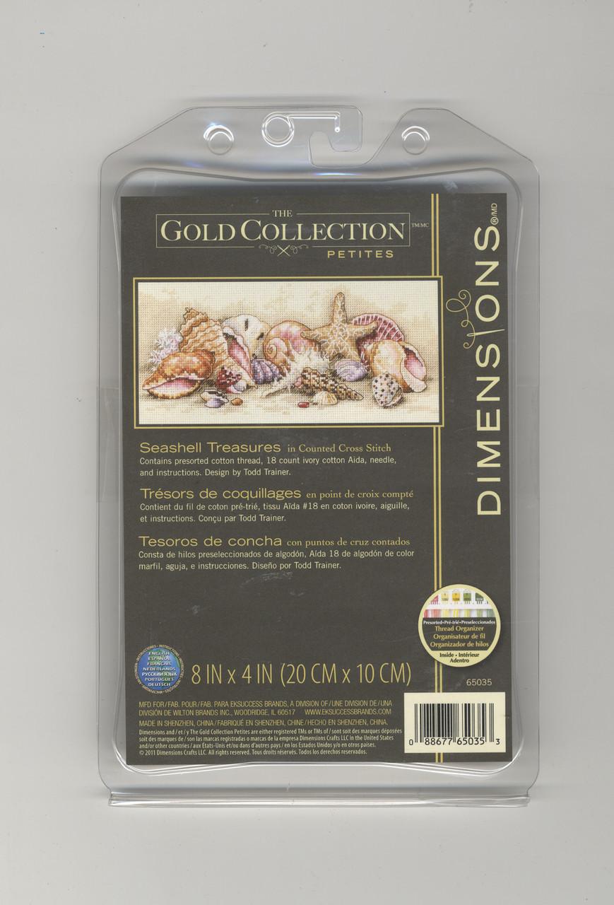 Gold Collection Petites - Seashell Treasures