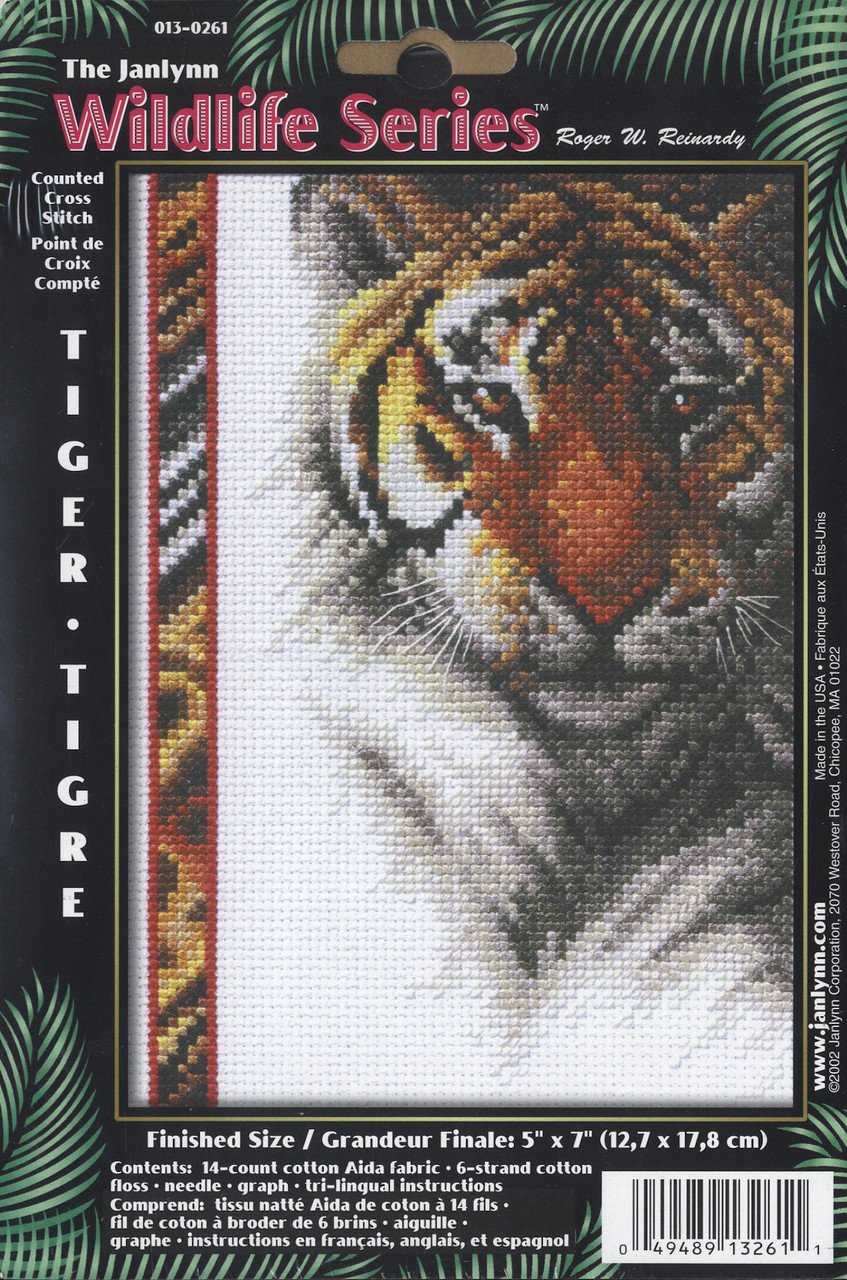 Janlynn Wildlife Series - Tiger