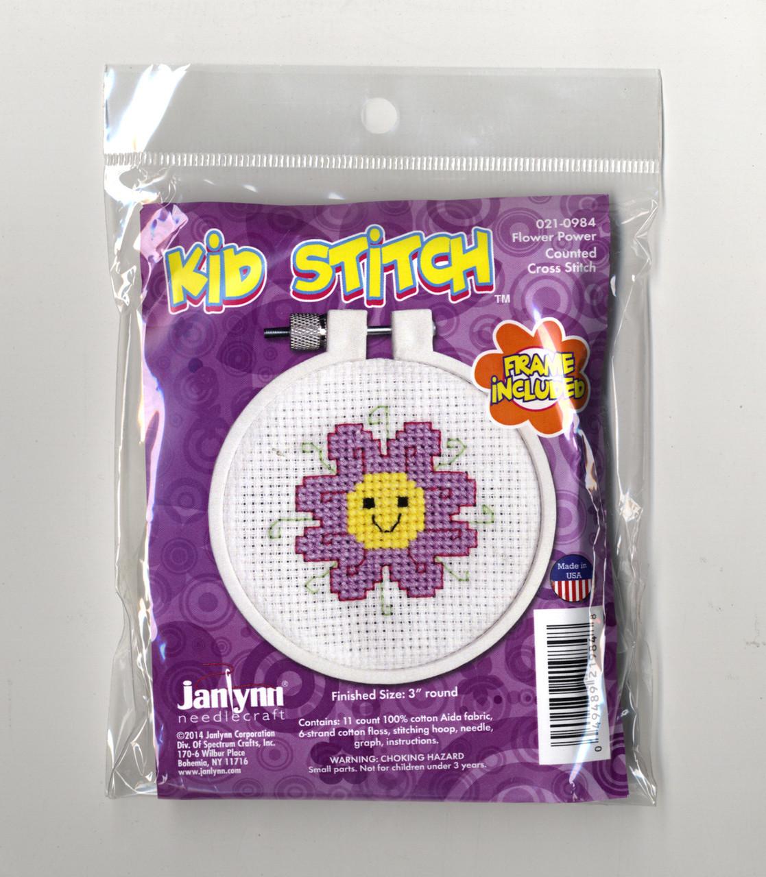 Kid Stitch - Flower Power