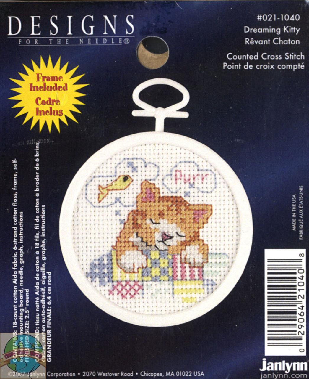 Janlynn Minis - Dreaming Kitty