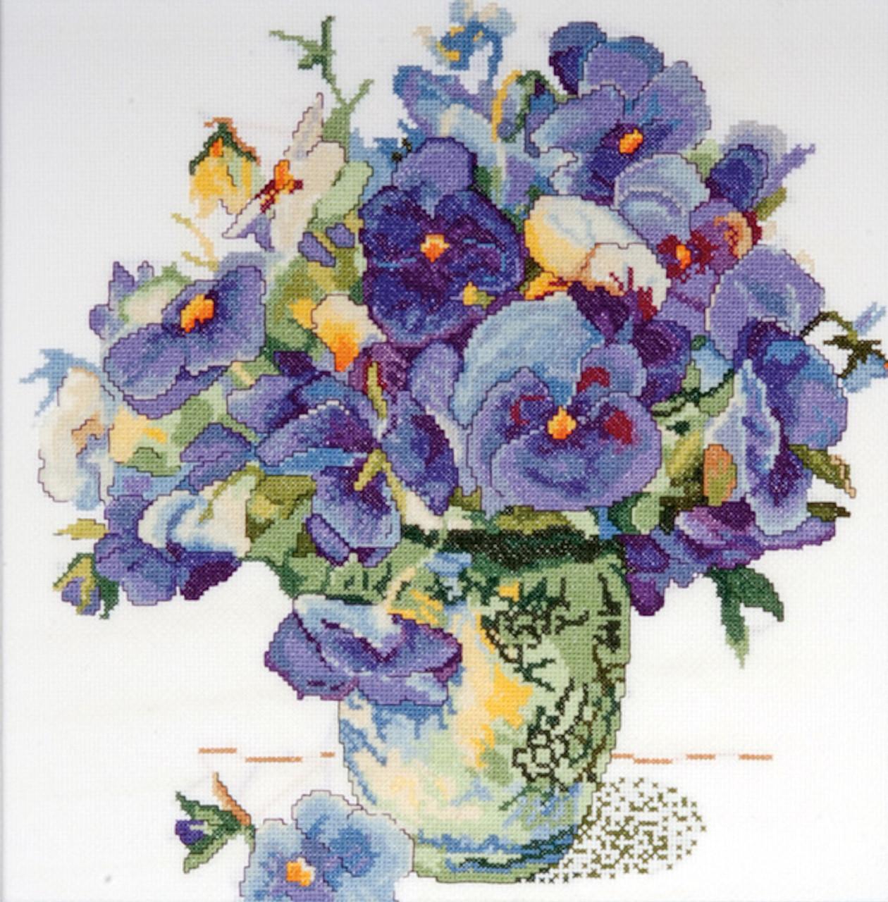 Design Works - Pansy Floral