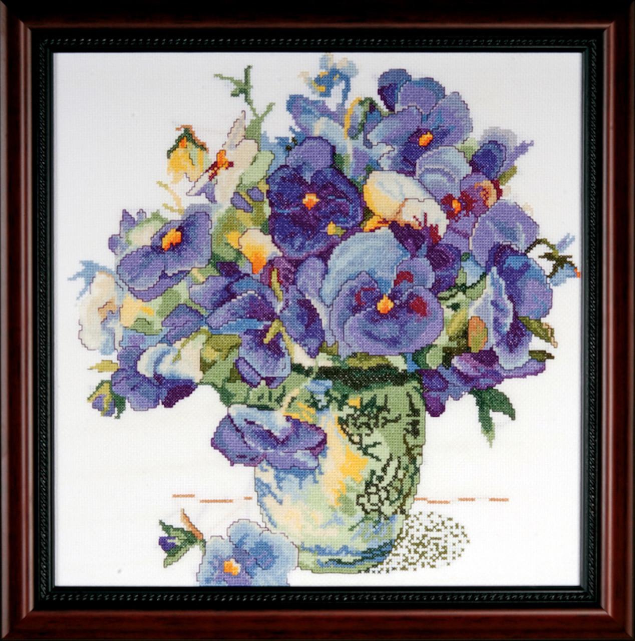 Design Works Pansy Floral