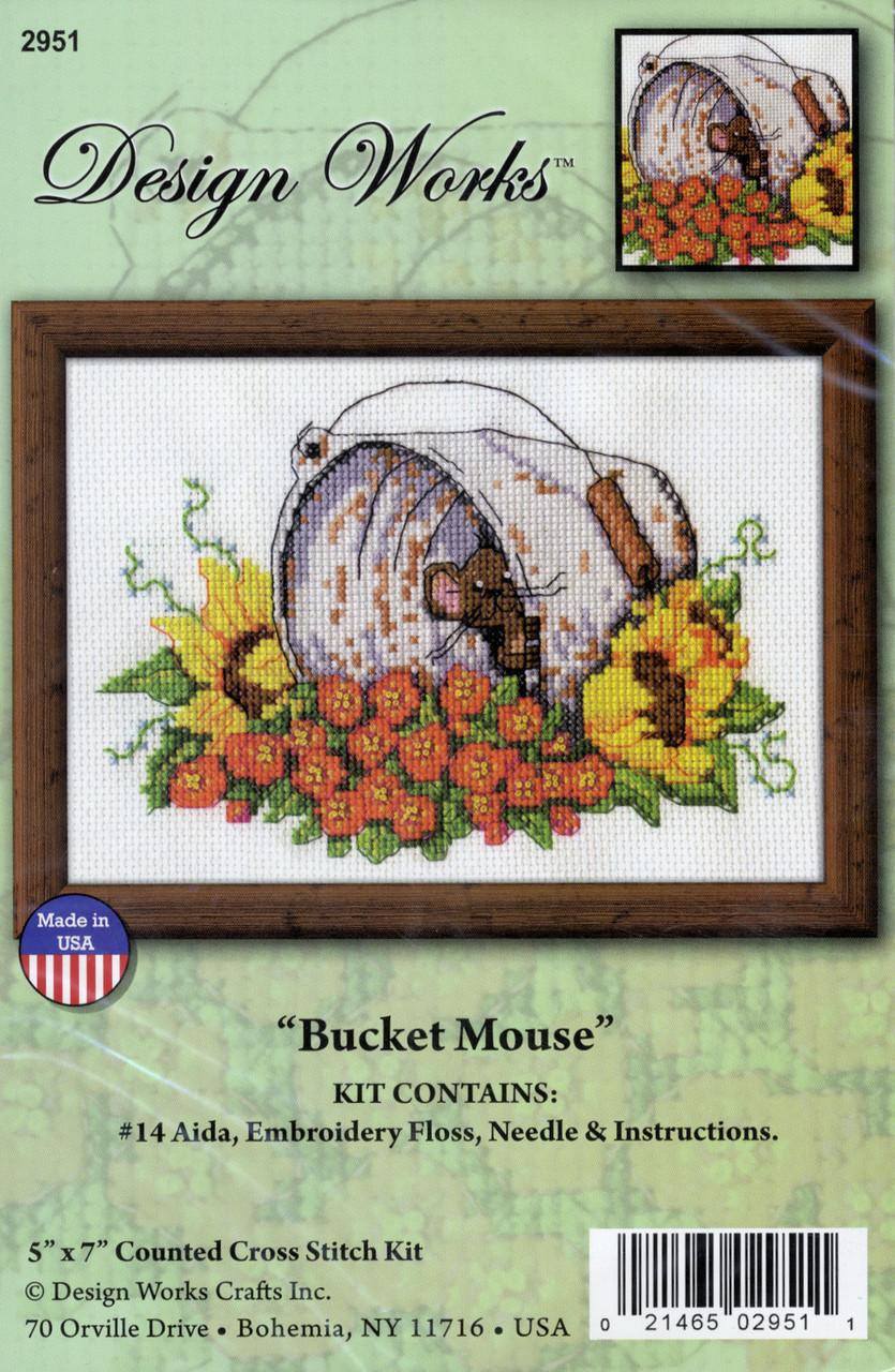 Design Works - Bucket Mouse
