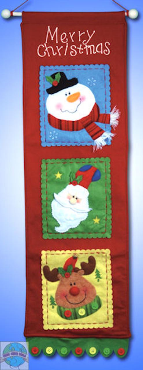 Design Works - Merry Christmas Card Holder