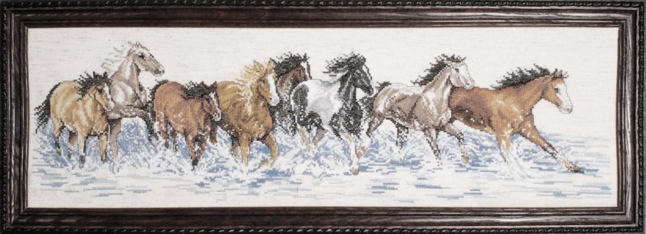 Design Works - Splashdown Horses