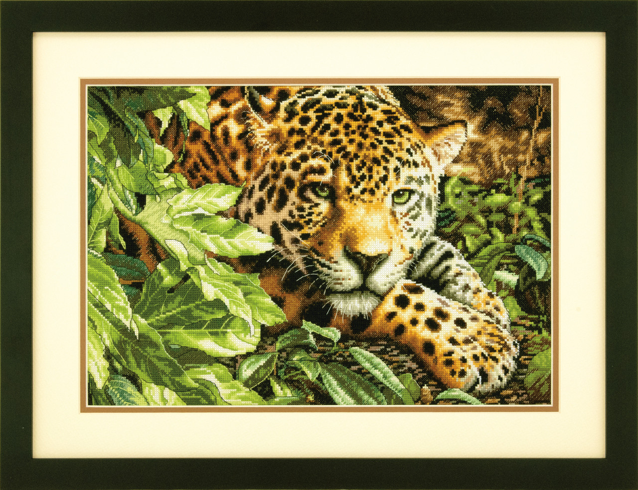 Gold Collection - Leopard in Repose