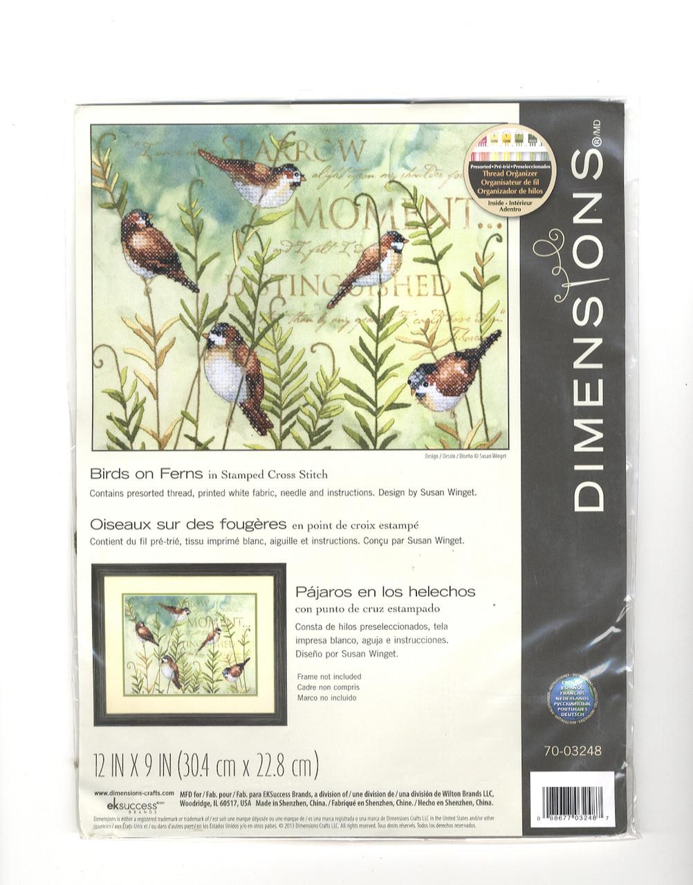 Dimensions - Birds on Ferns
