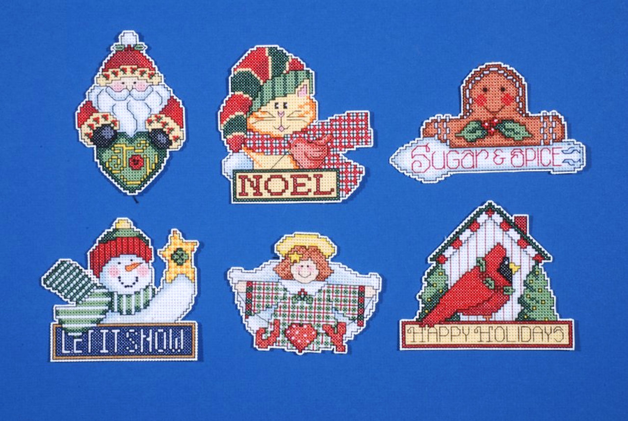 Design Works - Signs of Christmas Ornament Set (6)