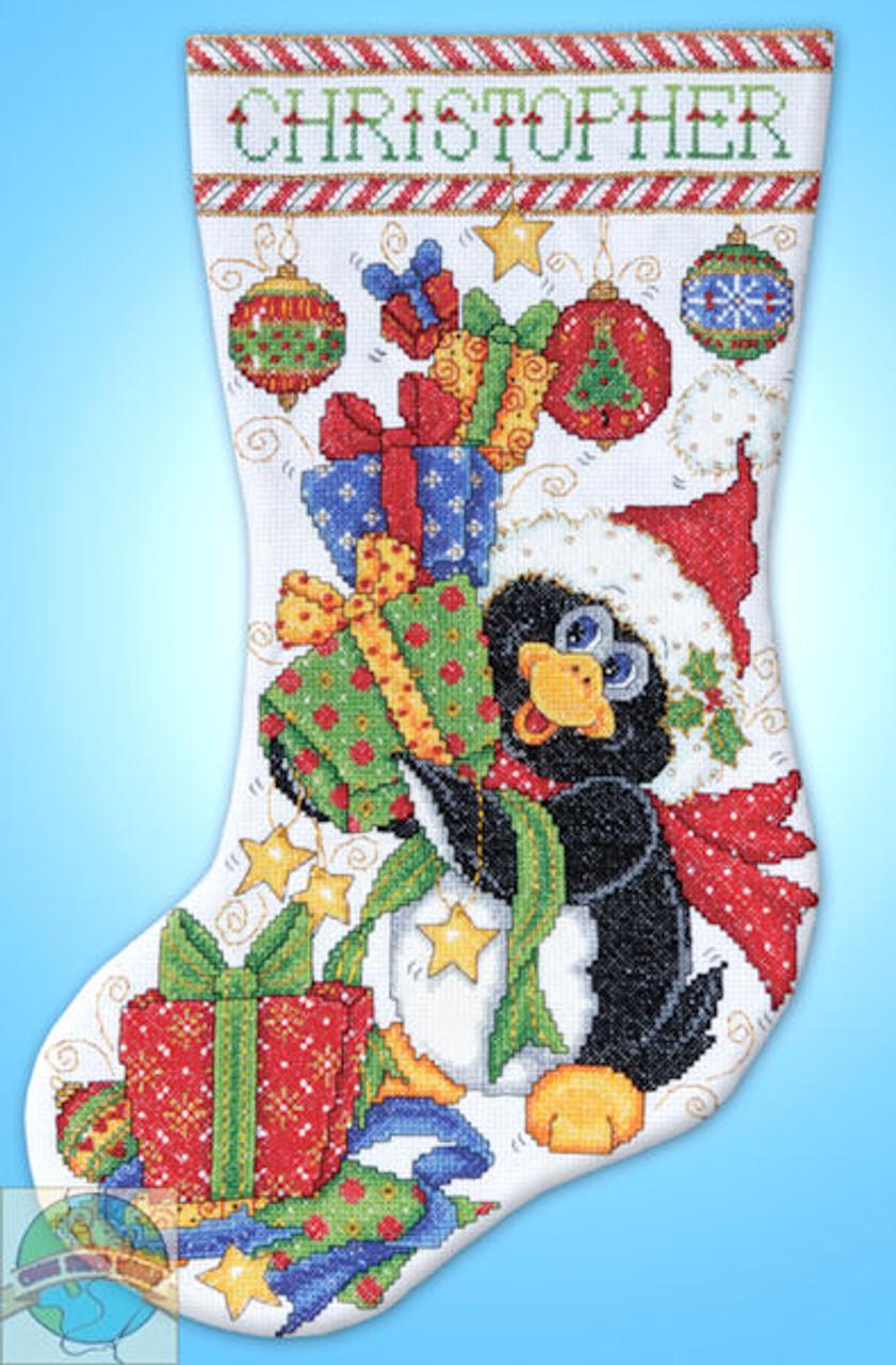 Design Works - Penguin Joy Stocking
