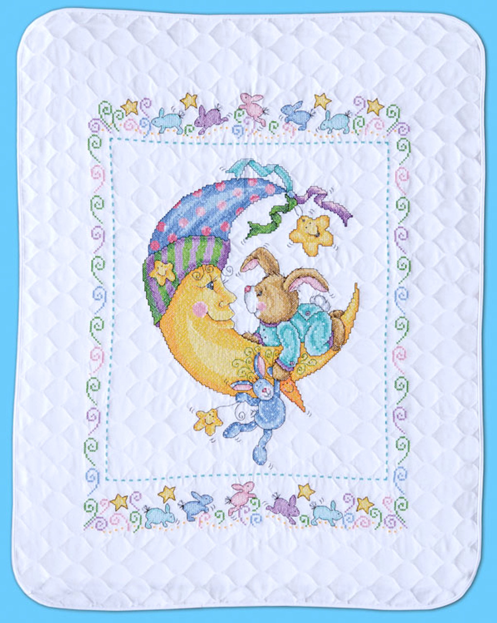 Design Works - Bunny and Moon Quilt