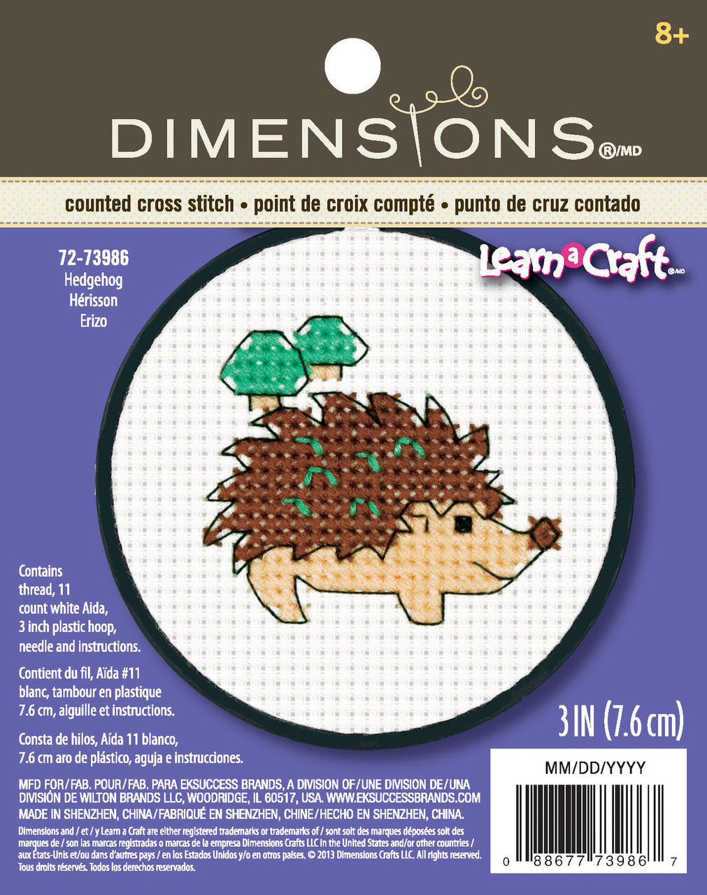 Learn a Craft for Kids - Hedgehog