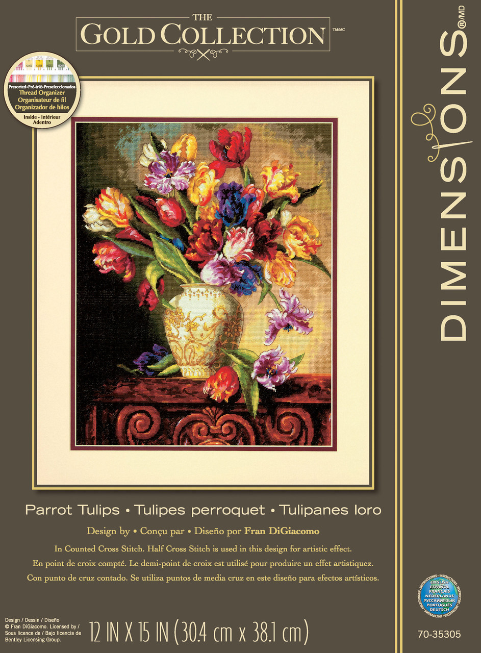 Gold Collection - Parrot Tulips