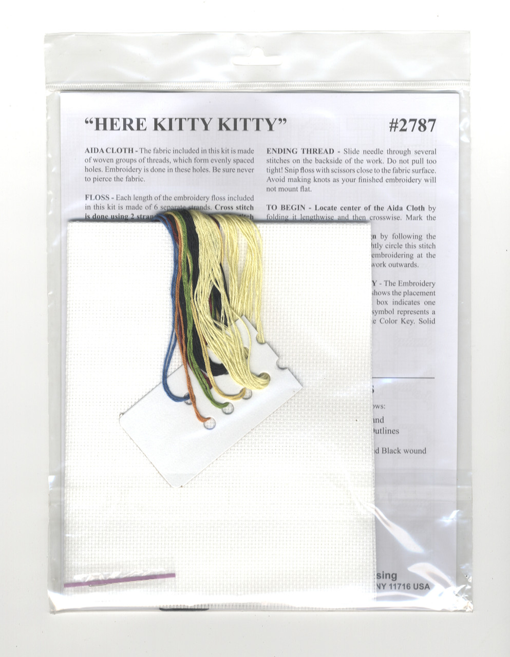 Design Works - Here Kitty Kitty
