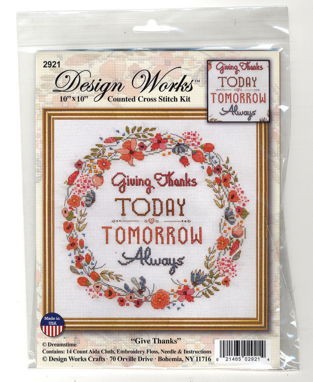 Design Works - Giving Thanks