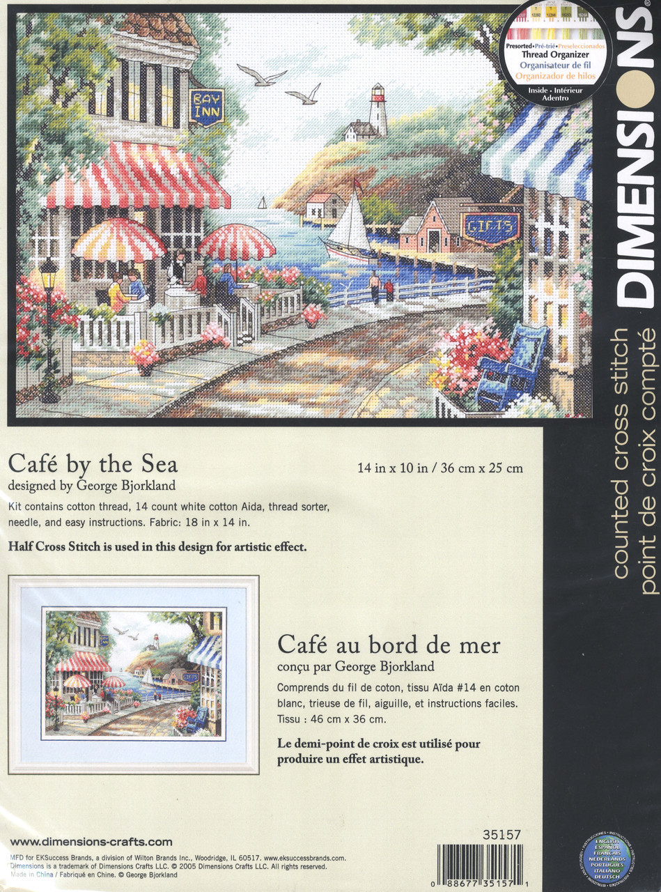 Dimensions - Cafe By The Sea