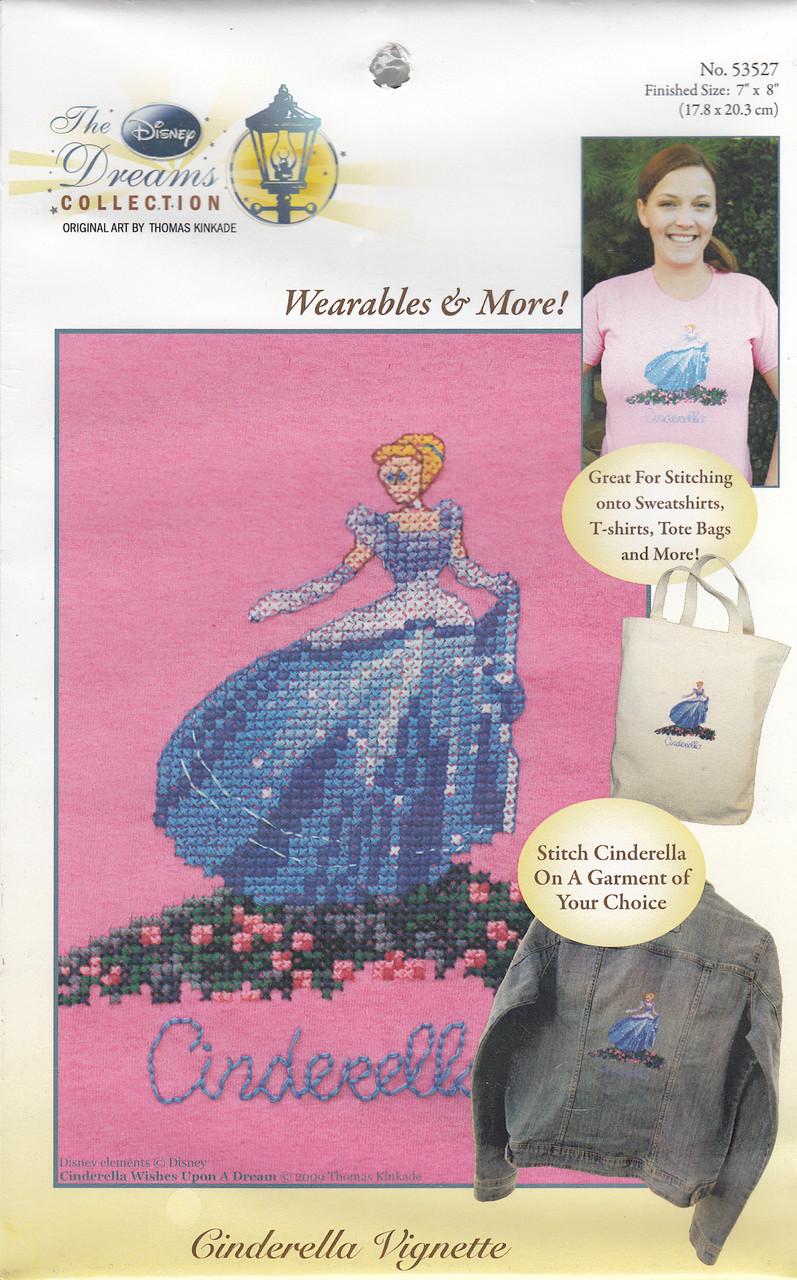 Kinkade / Disney - Cinderella (Waste Canvas Kit)