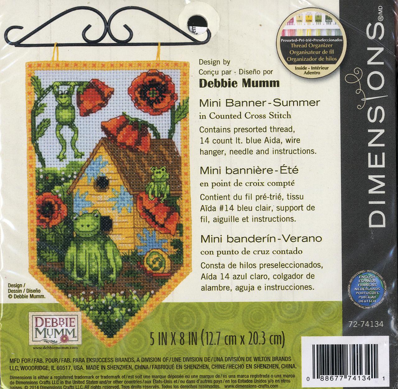 Dimensions / Debbie Mumm - Summer Mini Banner