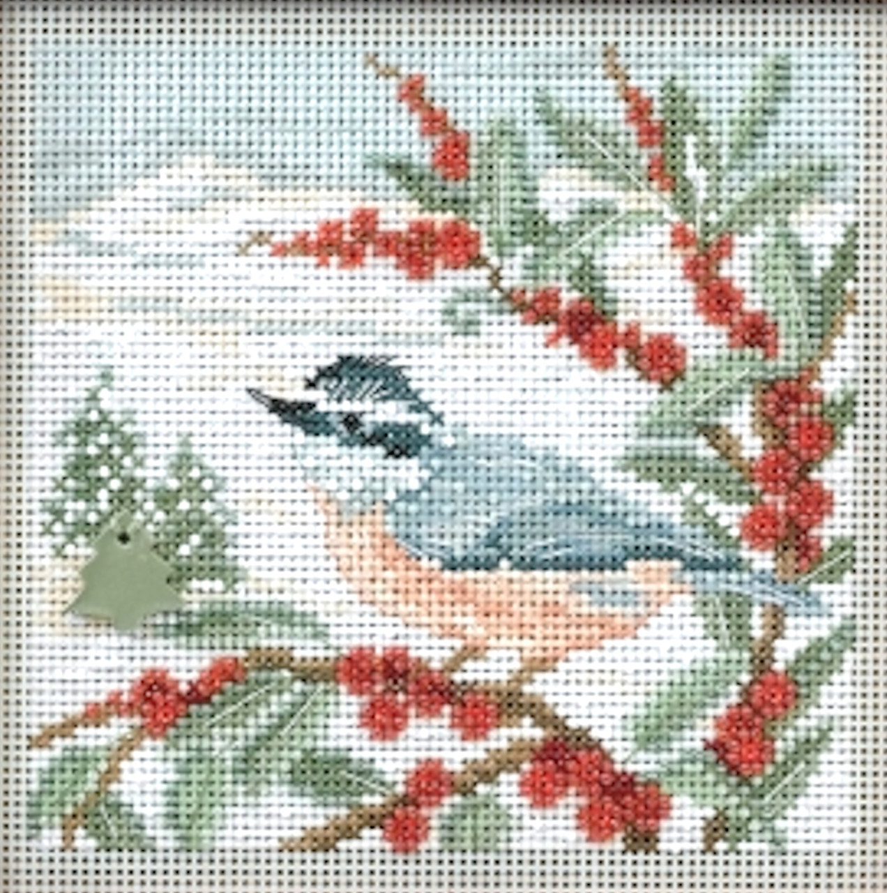 2014 Mill Hill Buttons & Beads Winter Series - Nuthatch