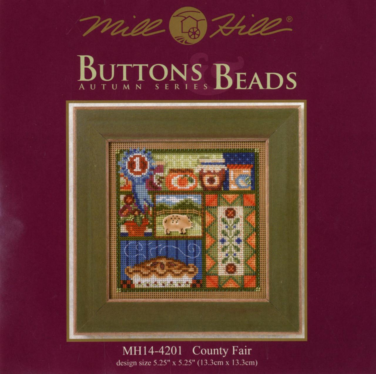 2014 Mill Hill Buttons & Beads Autumn Series  - County Fair