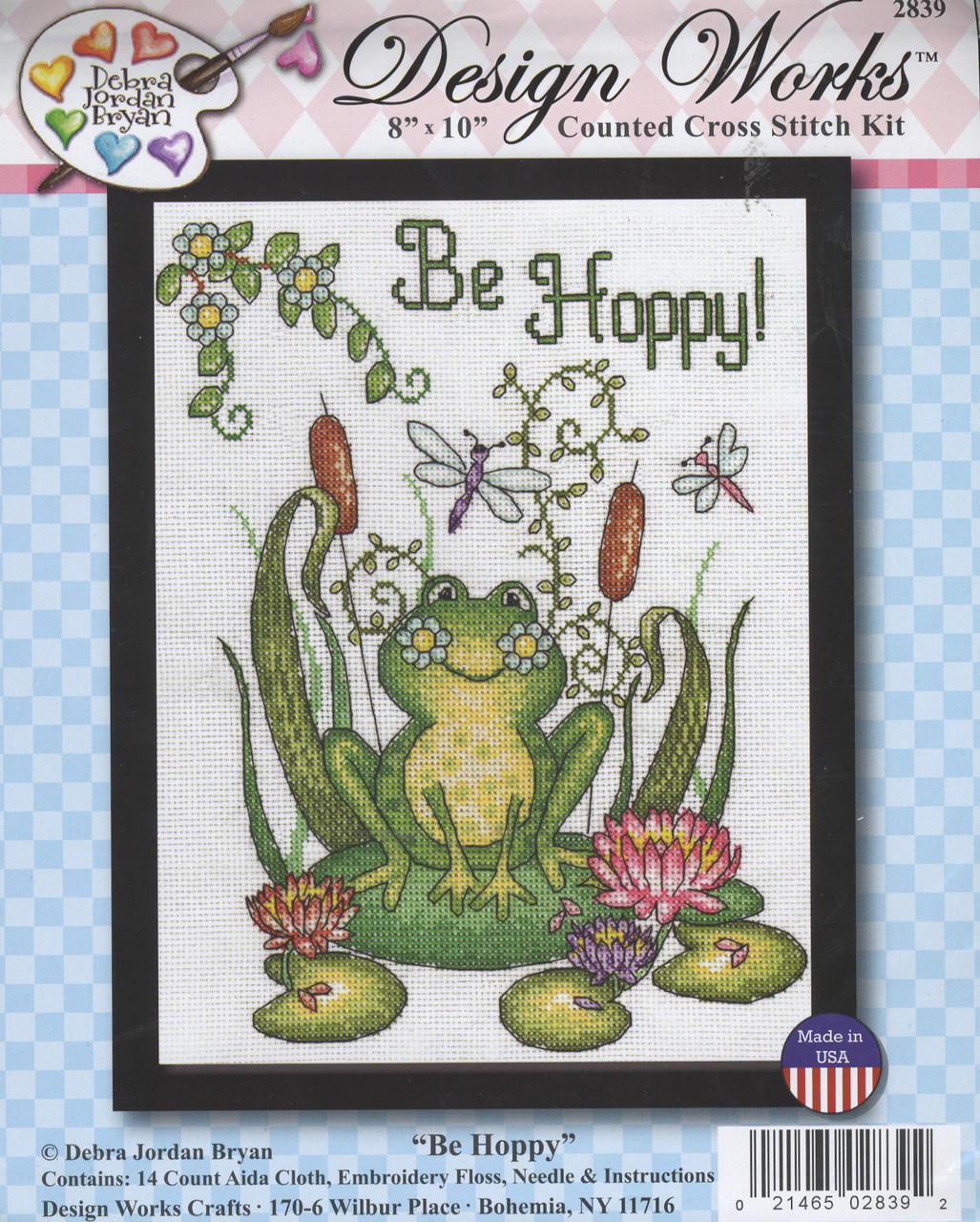 Design Works - Be Hoppy (Frog)