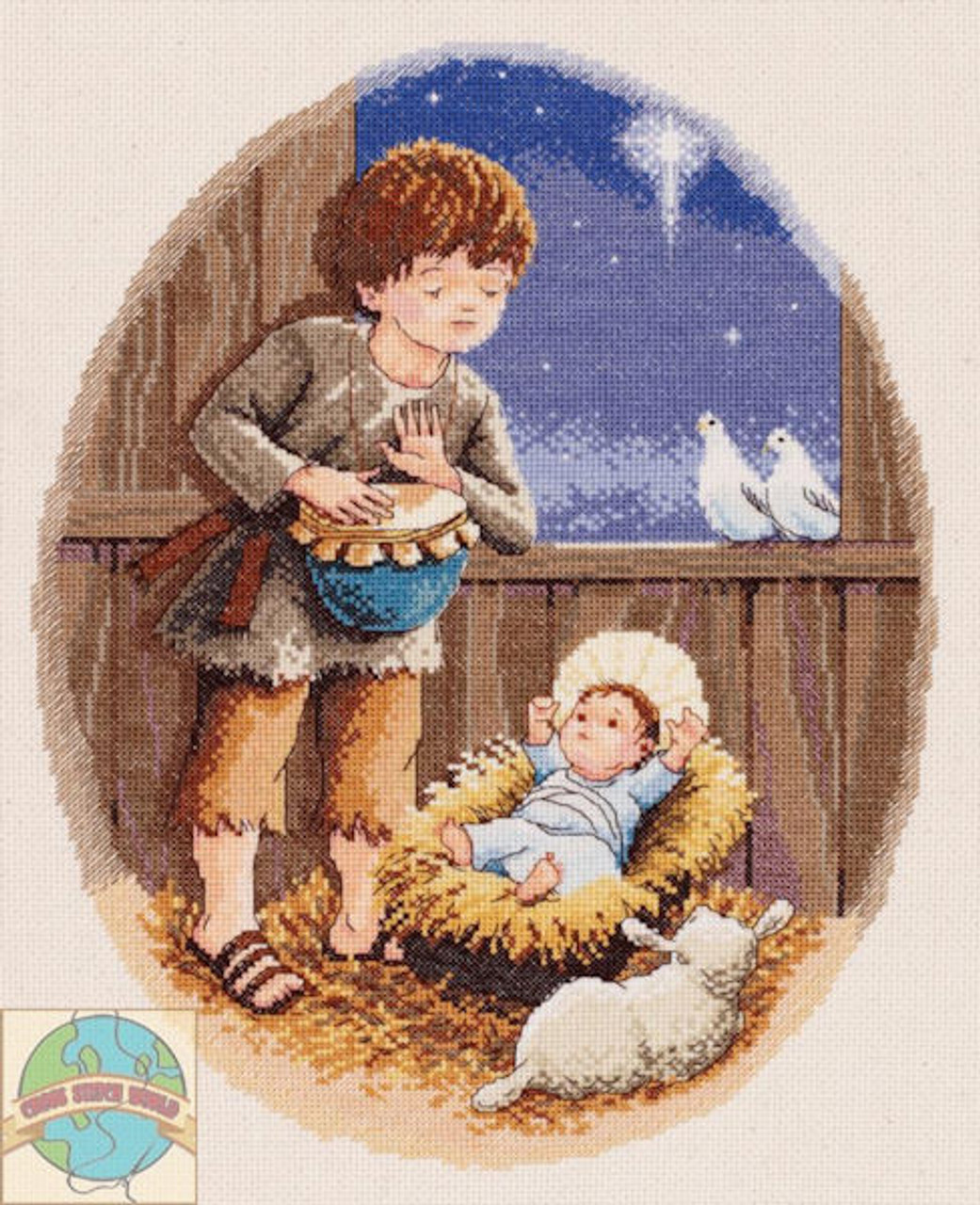 Janlynn The Little Drummer Boy Crossstitchworld