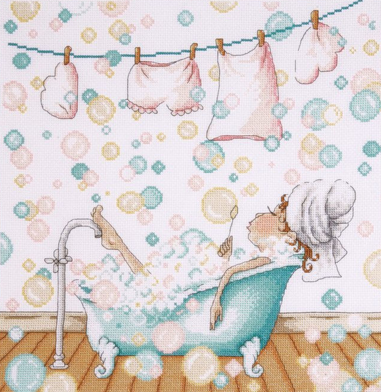 Design Works - Blowing Bubbles