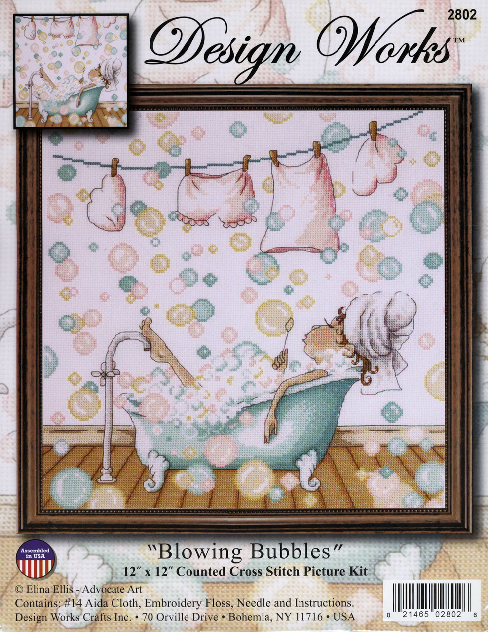 Design Works - Blowing Bubbles