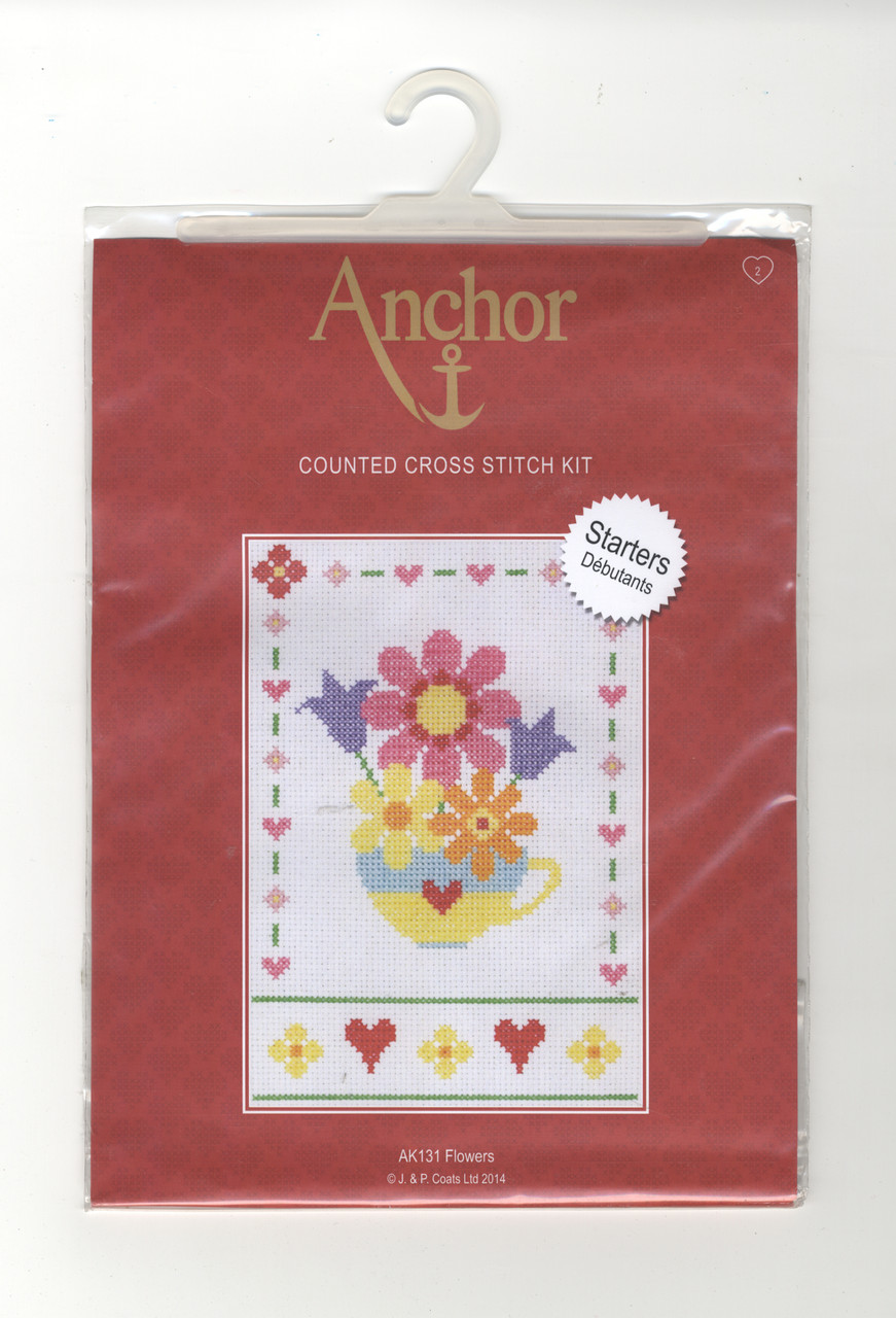 Anchor Starters - Flowers
