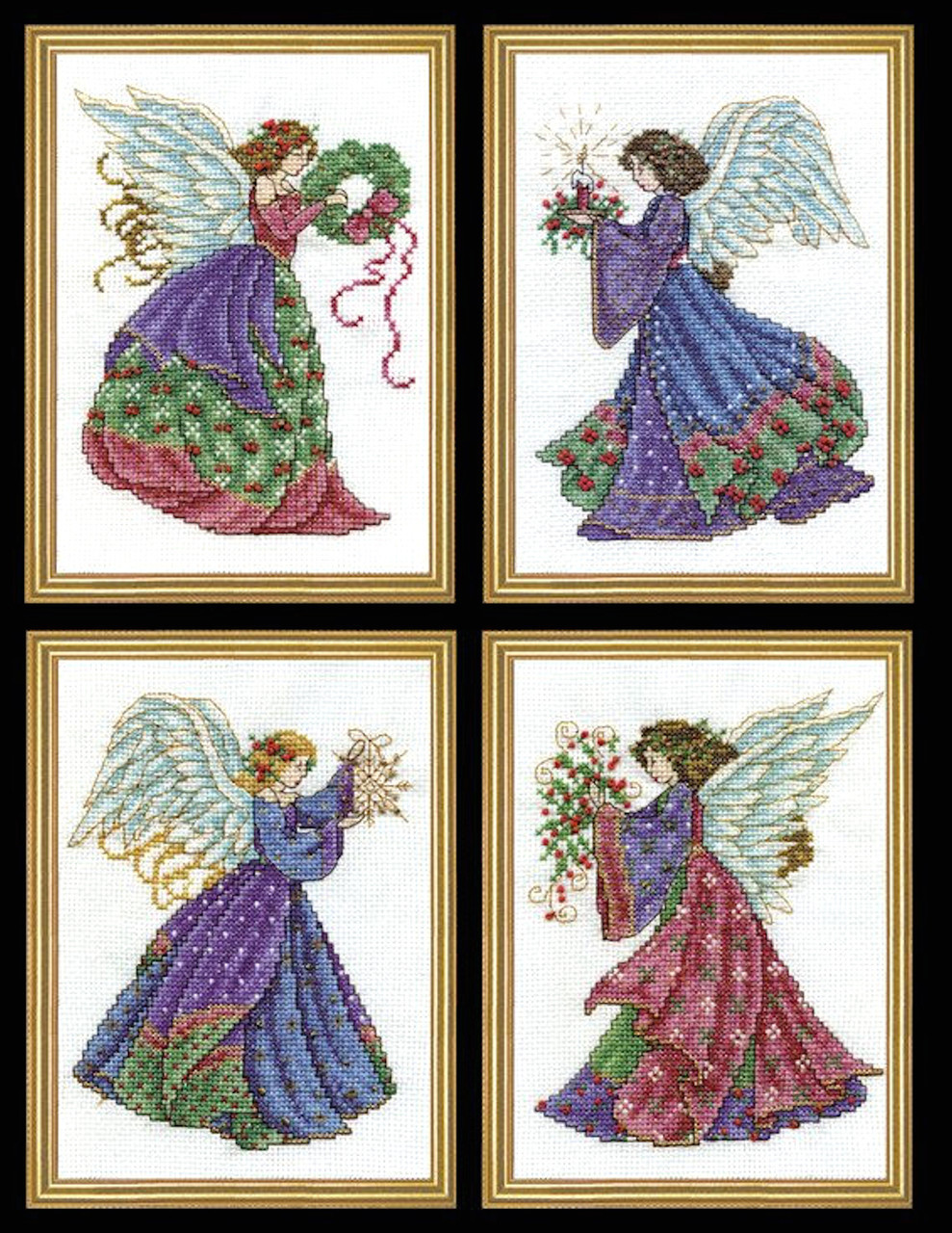 Design Works - Christmas Angels Set of 4