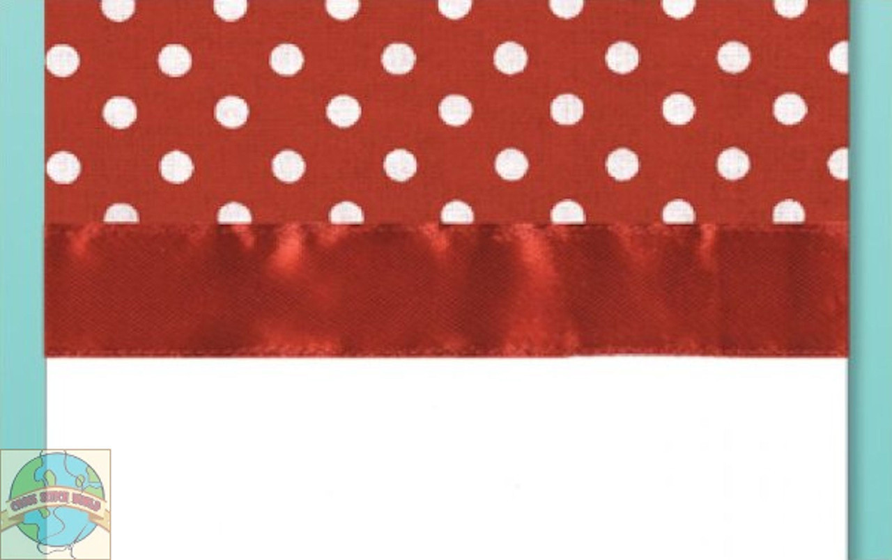 Design Works - Red Polka Dot Towel
